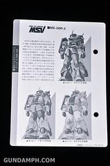 HCM MS-06R-2 Johnny Ridden's Zaku-II (144 scale) 1984 make (15)