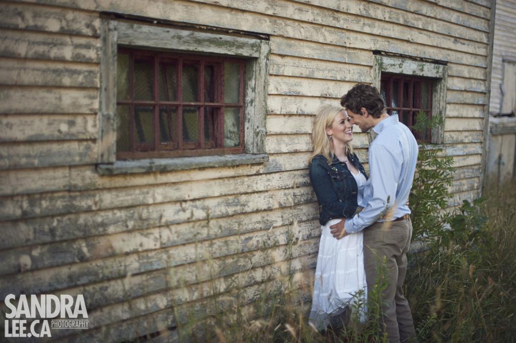 Trevor + Amy :: Rustic Newfoundland Farm Engagement