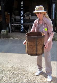 A bushel (4 pecks or 8 gallons)