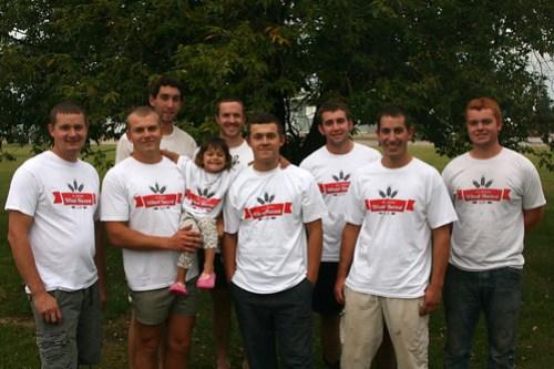2012 Hoffman Harvesting crew
