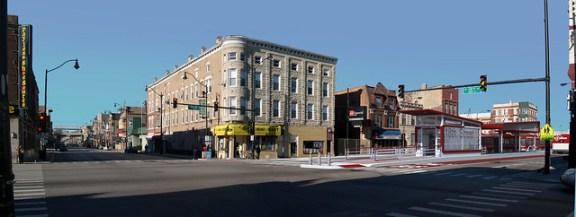 Ashland and 18th Street bus rapid transit