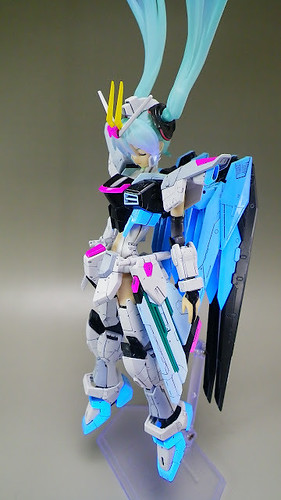 MG Girl Freedom Gundam - Custom Build Modeled by nm17090922 (5)