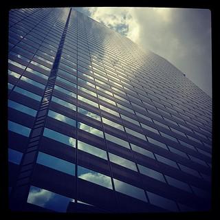 新宿アイランドタワー。レディースクリニックを訪問。僕は付き添いですが。男子禁制の婦人科のため、僕は一階でカフェタイム。