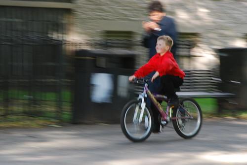 Kids love cycling