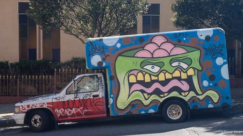 Truck Graffiti.