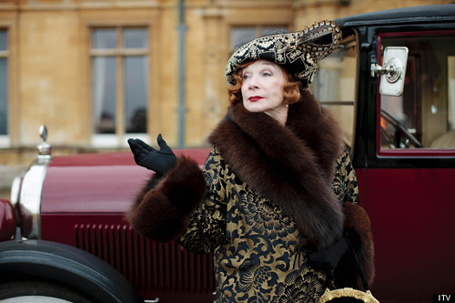 Shirley MacLaine in Downton Abbey