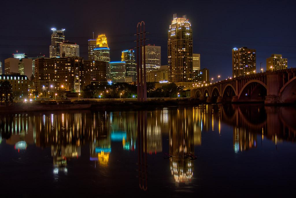 Minneapolis Reflection 2