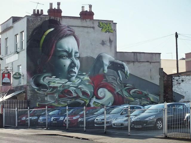 GRAFFITI-North Street, Bedminster, Bristol