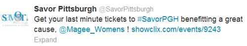 Savor Pittsburgh