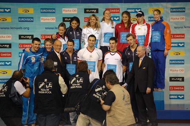 A star studded Rijeka 2008 group photo