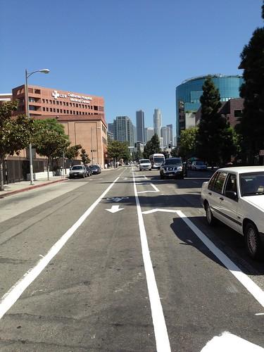 Grand Av. bike lane