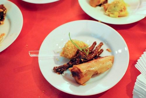 John Lechleidner (WP24) malaysian chicken feet, dan dan chicken dumplings, peking duck roll, ovaltine fudgesickles, passionfruit push pops, watermelon rose icies, galia pandan icies