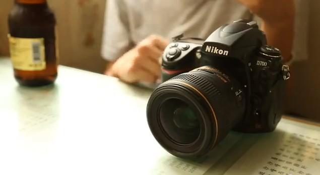Objetivo 35mm lonfigud focal fija nikon