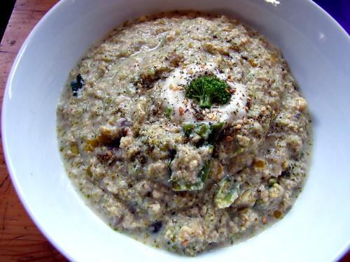 Cream of Broccoli Soup (Vegan, Keto(ish))