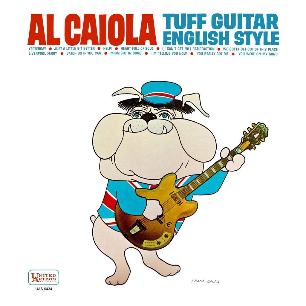 Al Caiola - Tuff Guitar English Style