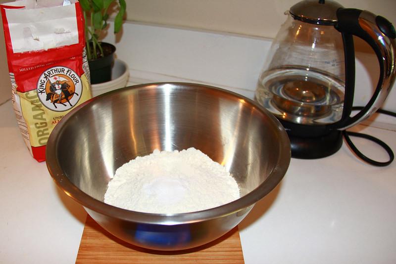 Plain Soda Bread Dry Ingredients