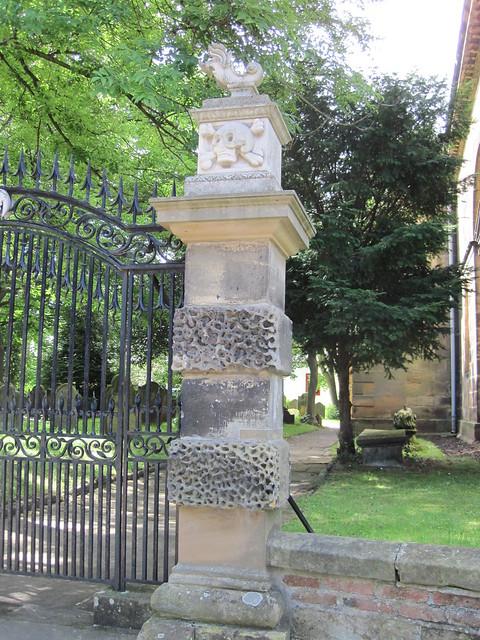 Kirkleatham Gateposts