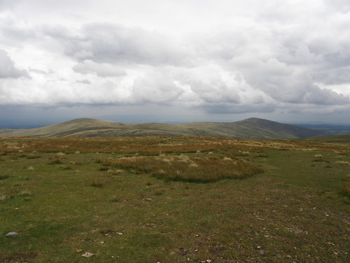 High Pike and Carrock Fell from Knott