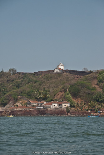 Fort Aguada from Coco beach