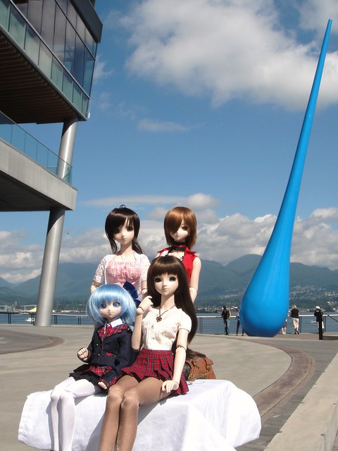 Saya, MEIKO, Cirno and Annalise in Vancouver