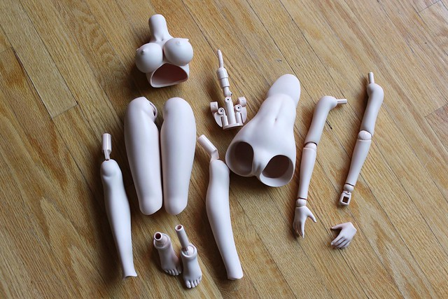 Dollfie Dream Dynamite 3 (DDdy3) pieces