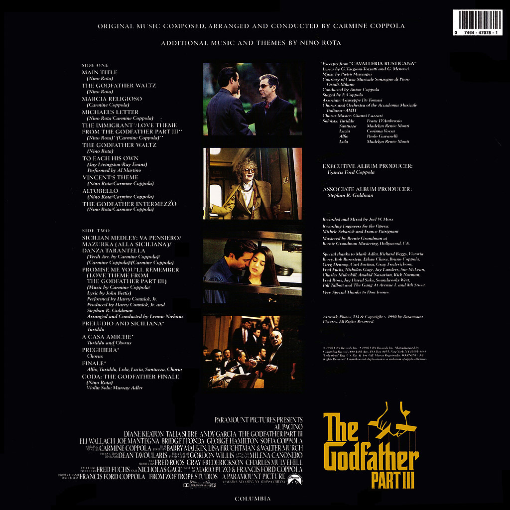 Carmine Coppola - The Godfather Part III