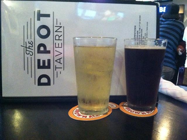 Drinks & dinner at The Depot Tavern