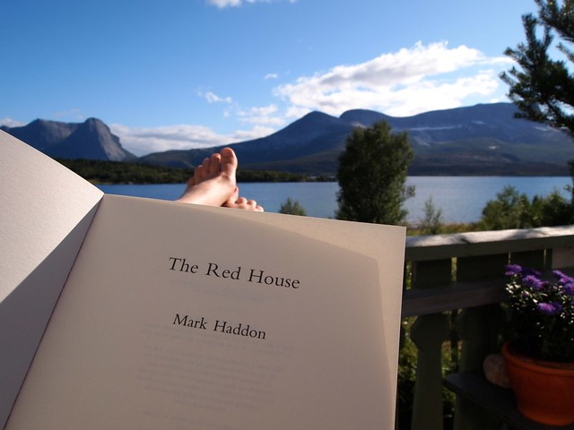Reading The Red House.