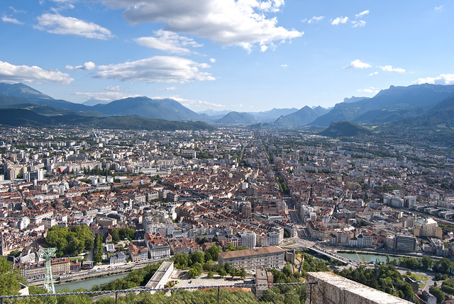 Vista de Grenoble