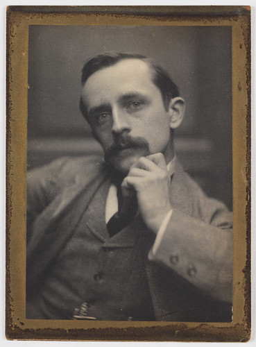 J. M. Barrie, 1892. by National Media Museum