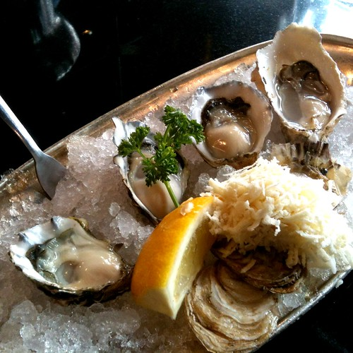 British Columbian oysters