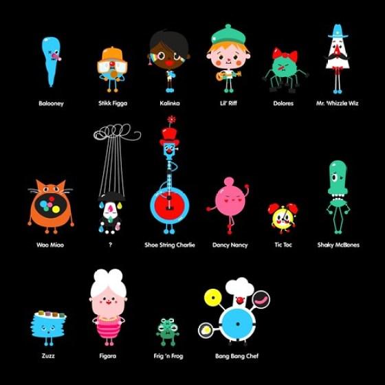 Toca Band Characters