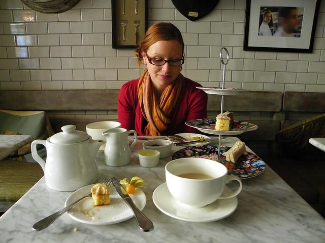Rainy Day Activities - Afternoon Tea