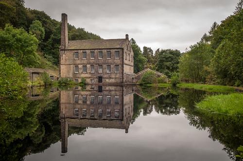 Gibson Mill, Hardcastle Crags, Hebden Bridge.