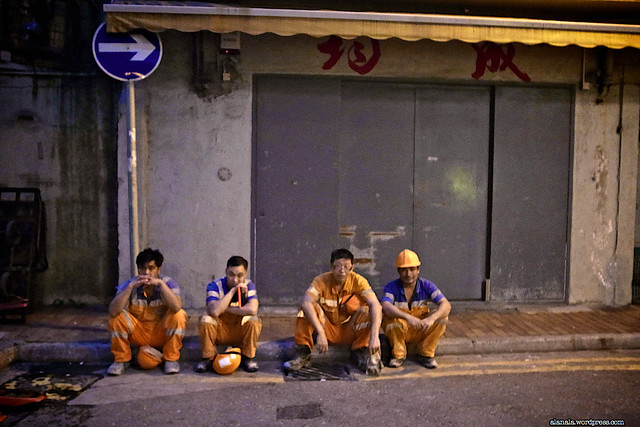 The MTR construction men