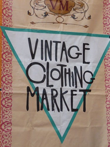 Vintage Clothing Market, Brick Lane, London