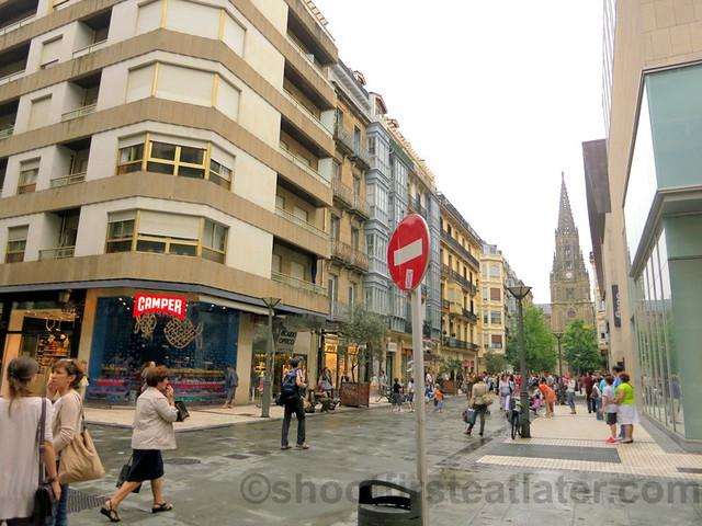 San Sebastian shopping