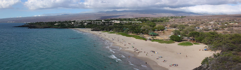 Hapuna Beach from the South