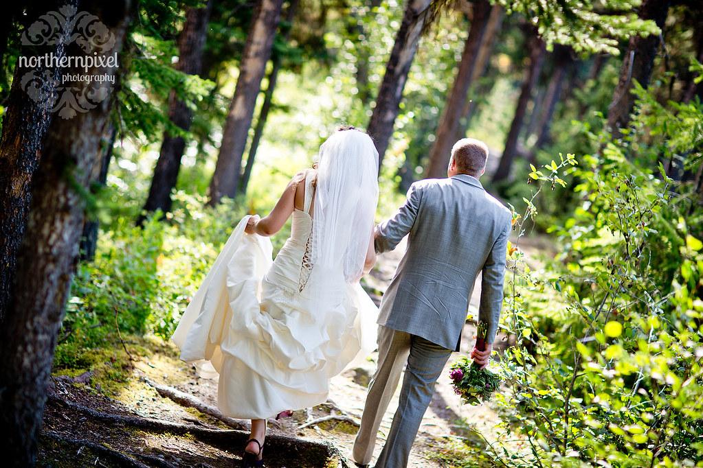 Newlyweds - Berman Lake BC