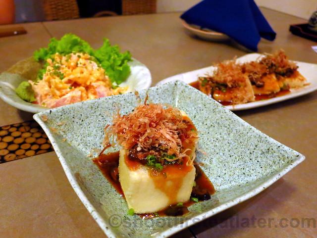 agedashi tofu P180