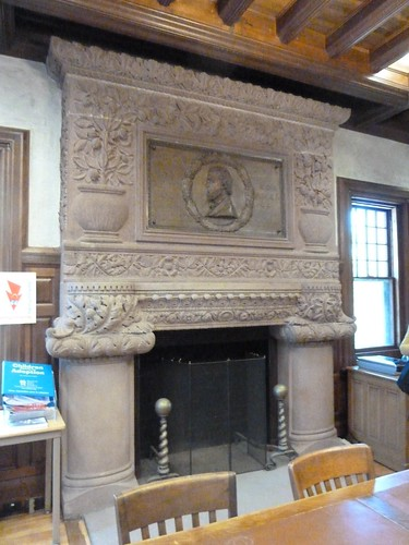 Reading Room Fireplace