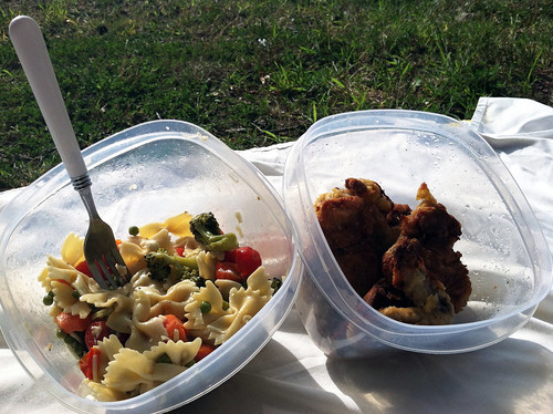 Bow Tie Pasta and Chicken