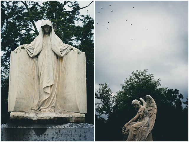richmond // hollywood cemetery