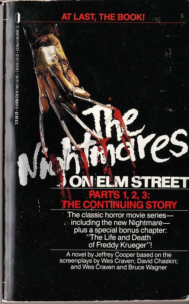 Nightmares on Elm St 1, 2, 3