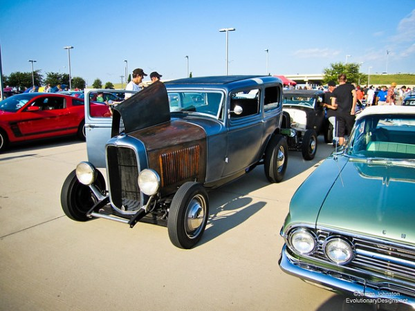 Model A Rat Rod - Cars and Coffe Dallas Texas