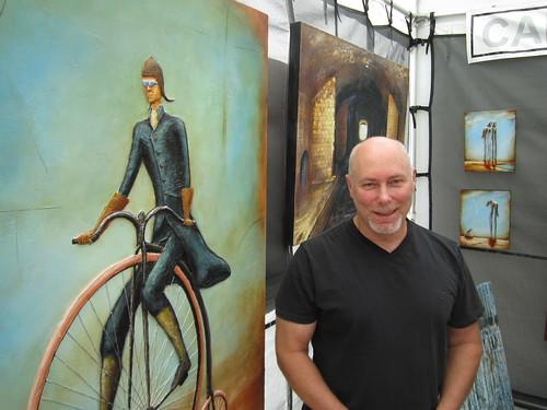 Carlo Allion, 2012 Artfest, Distillery District