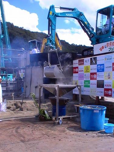 日本一の芋煮会フェスティバル 2012