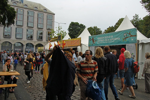 At the Malmöfestivalen