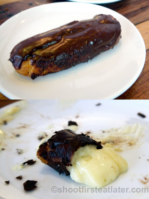 Wildflour Cafe + Bakery- chocolate eclair P110