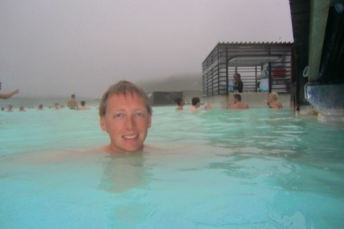 Ingo at Blue Lagoon